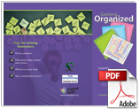 Getting Organized Brochure